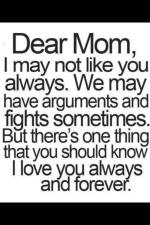 Dear Mom – a letter to my mother as I plan my wedding